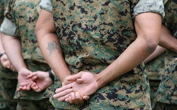 Marine Tattoo Policy