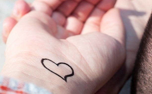 821e32a3a Heart Wrist Tattoo - Some Design Ideas To Choose From