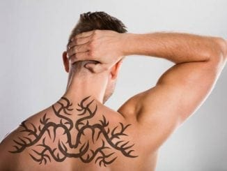 Tribal Back Tattoos